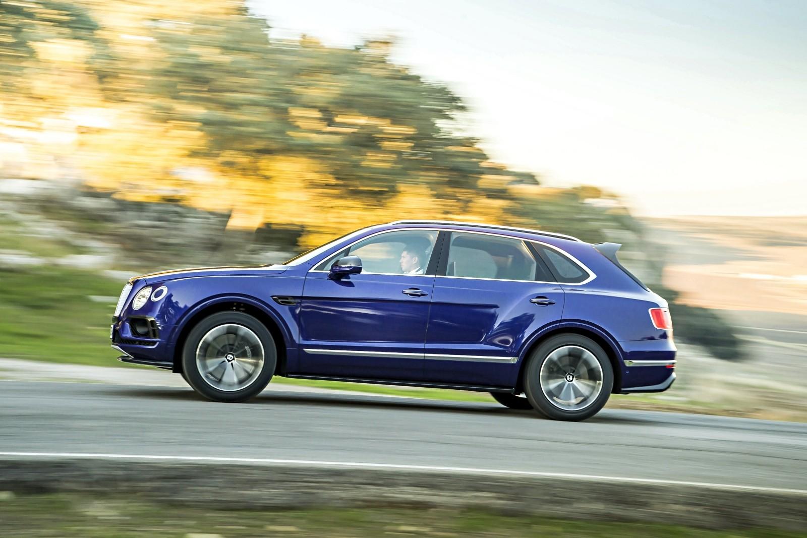 Bentley Bentayga нужен более длинный болт: объявлен отзыв в России