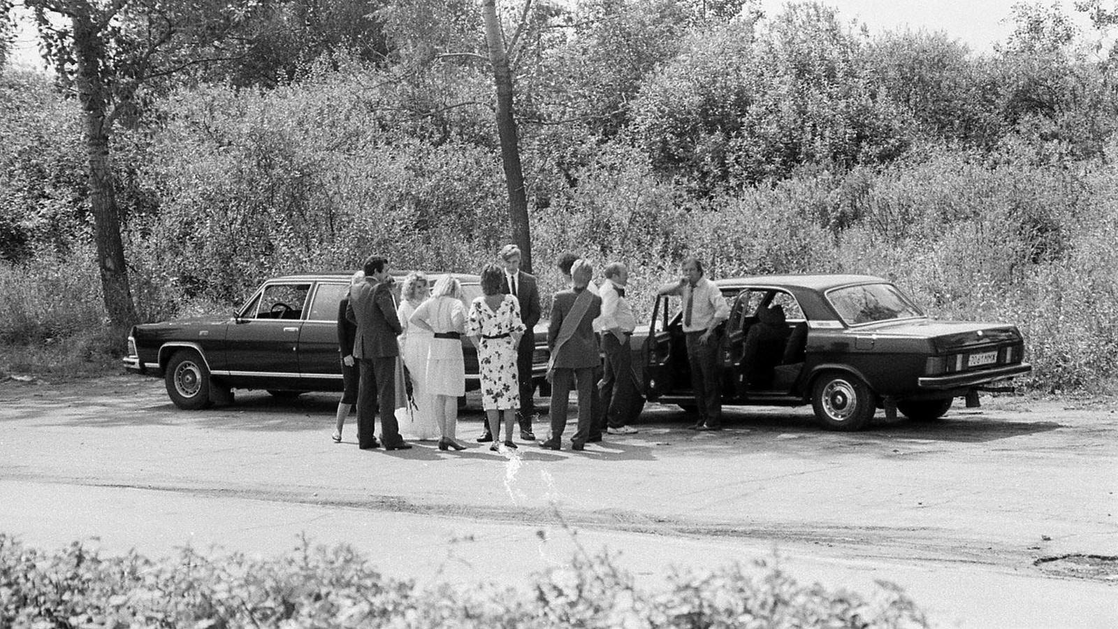 ГАЗ-14 обслуживал не только отечественных чиновников, но и иностранные делегации