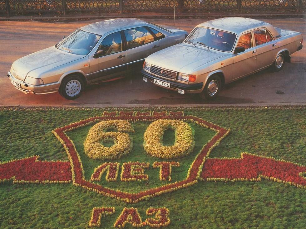 В отличие от «мертворождённой» ГАЗ-3105 (слева), «двадцать девятой» удалось стать массовой моделью ГАЗ в девяностые годы
