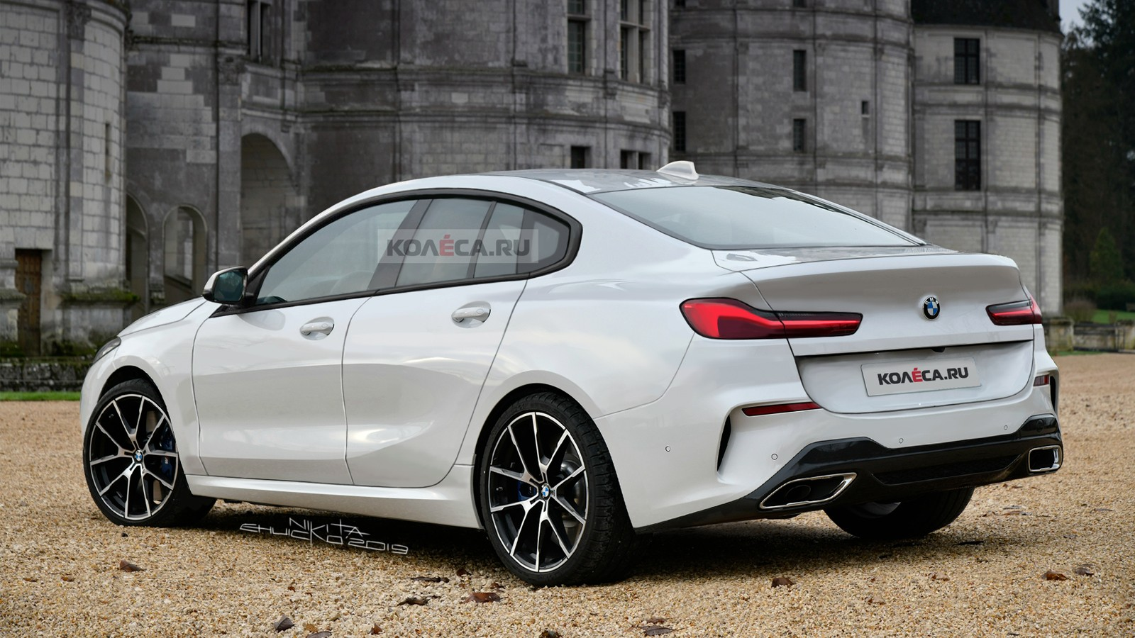 BMW 2 Gran Coupe rear2