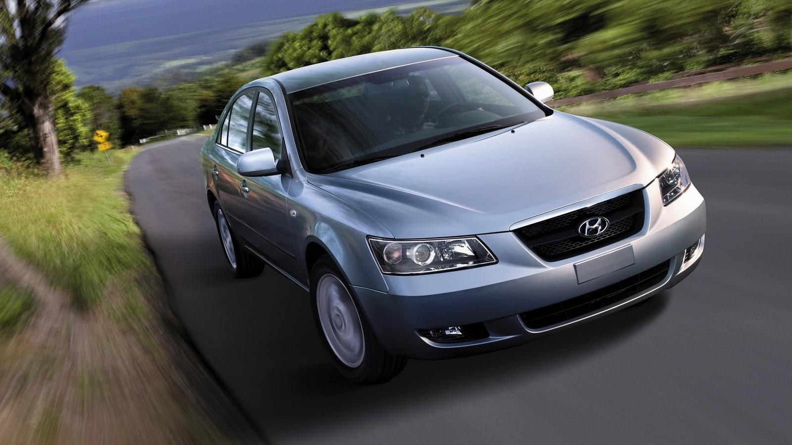 Hyundai Sonata (NF) '09.2004–11.2007я