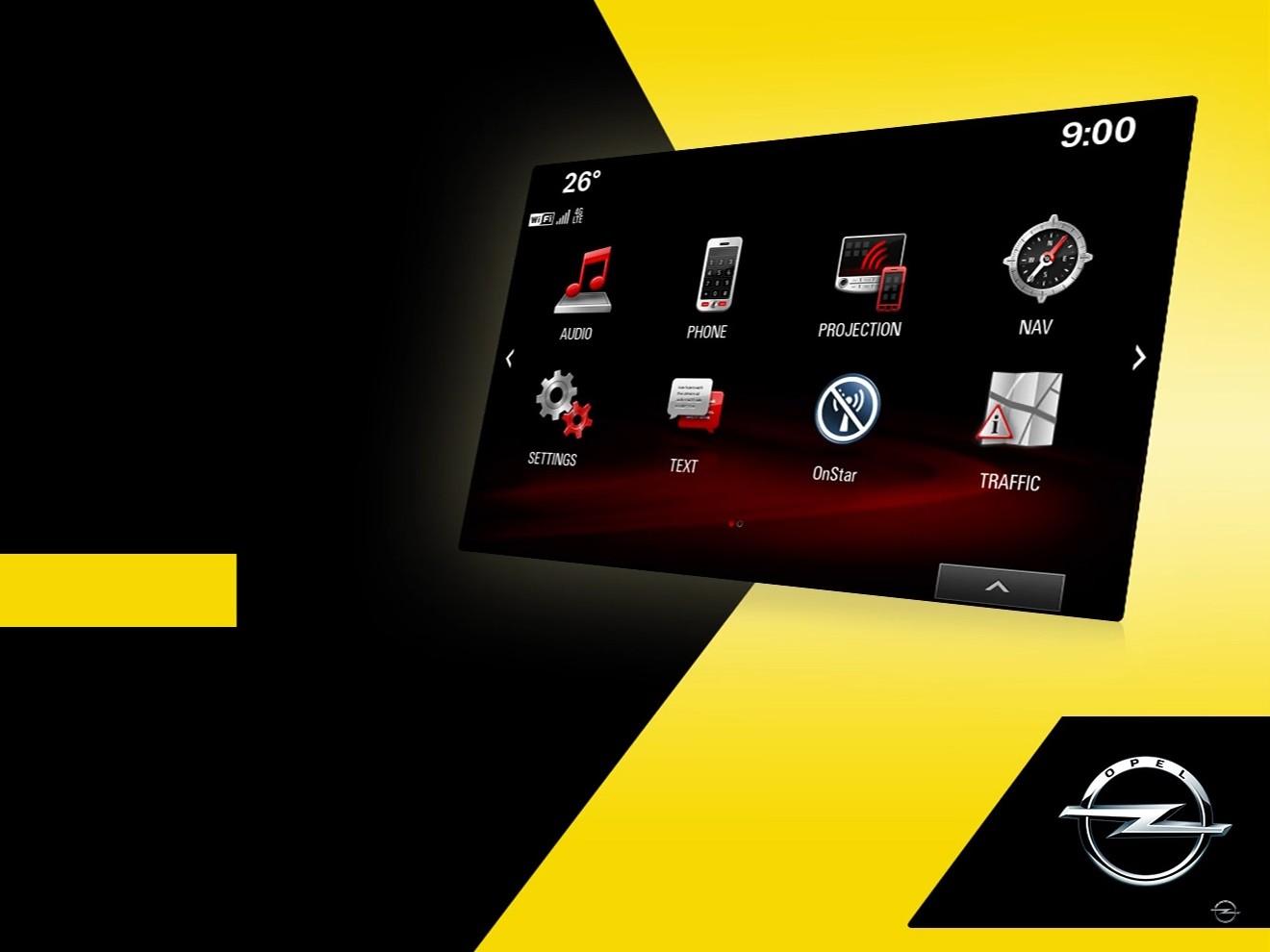 Opel учит работать с навигатором и мультимедиа IntelliLink
