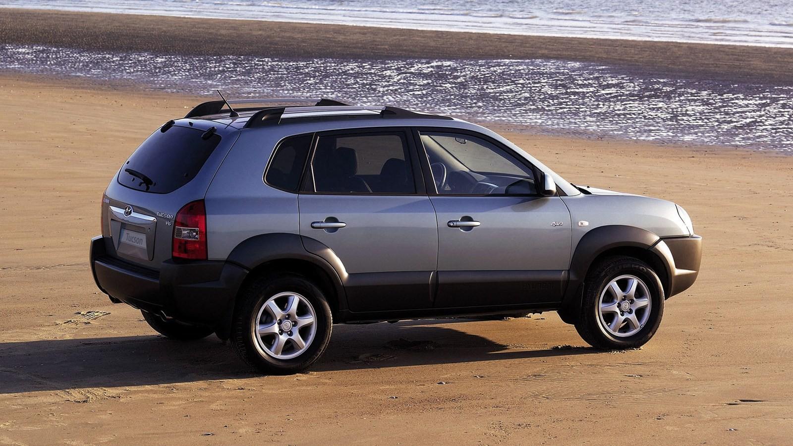Hyundai Tucson '2004–09с