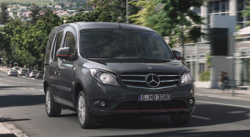 Новый Citan: по-прежнему аналог Renault Kangoo, но в нём будет больше от Mercedes