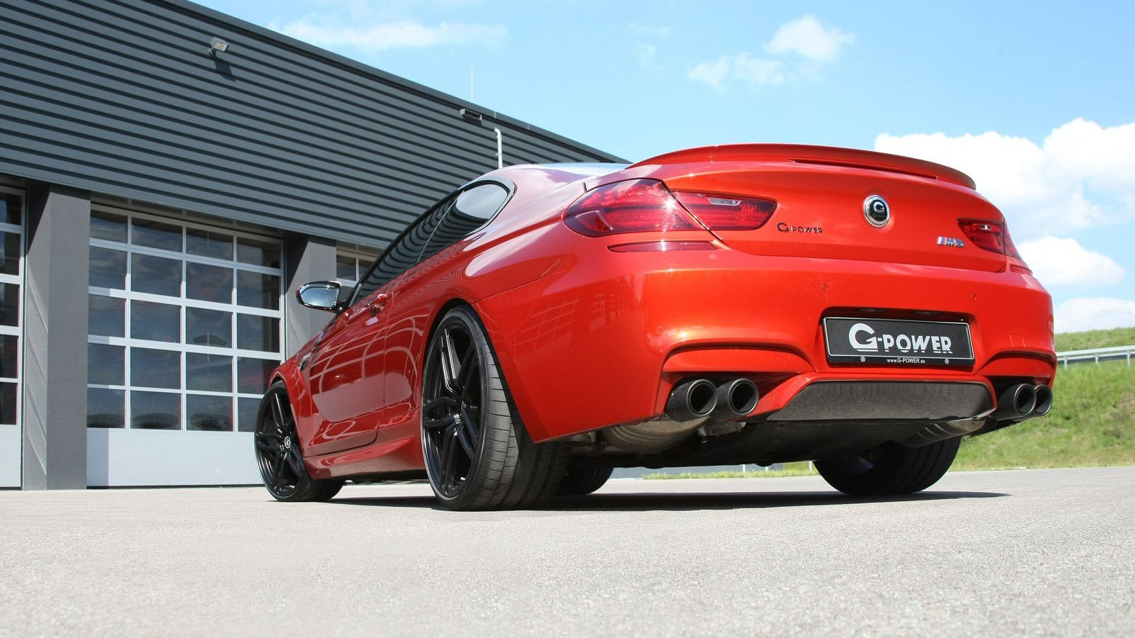 BMW M6 Coupe от G-Power