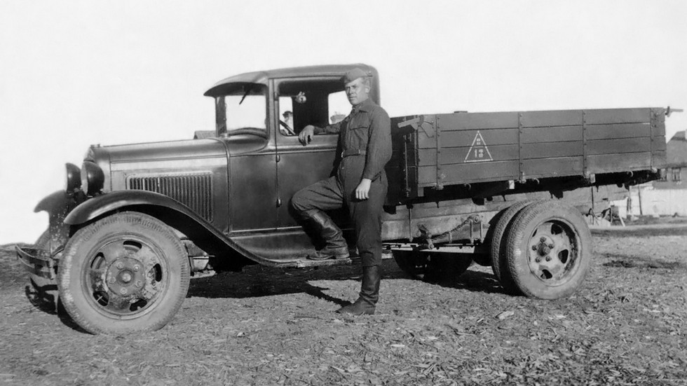 На фото: ГАЗ-ММ '1938–50
