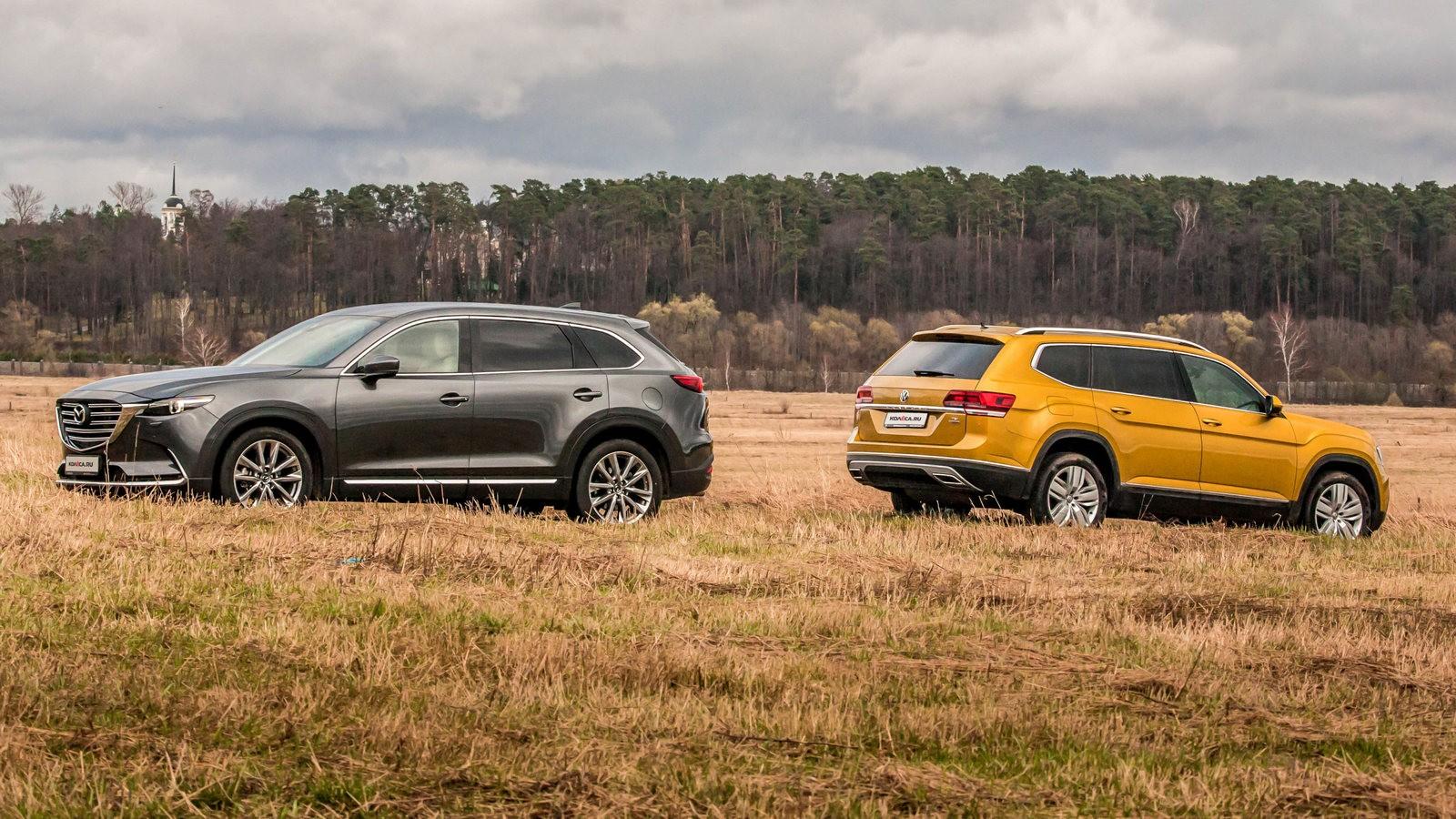 Mazda и Volkswagen