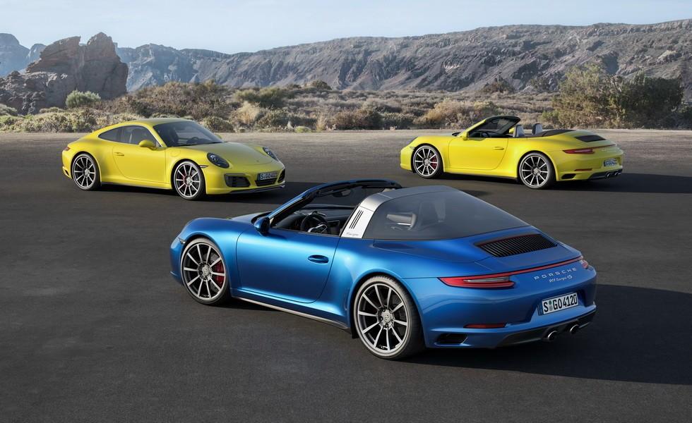 Porsche 911 (991) текущей генерации