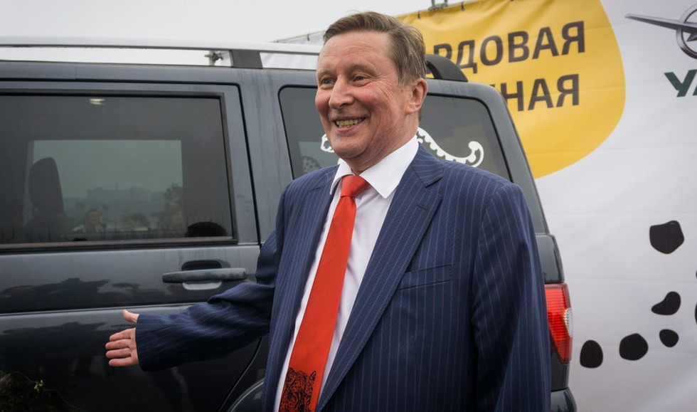 На фото: Сергей Иванов, спецпредставитель президента РФ по вопросам природоохранной деятельности, экологии и транспорта