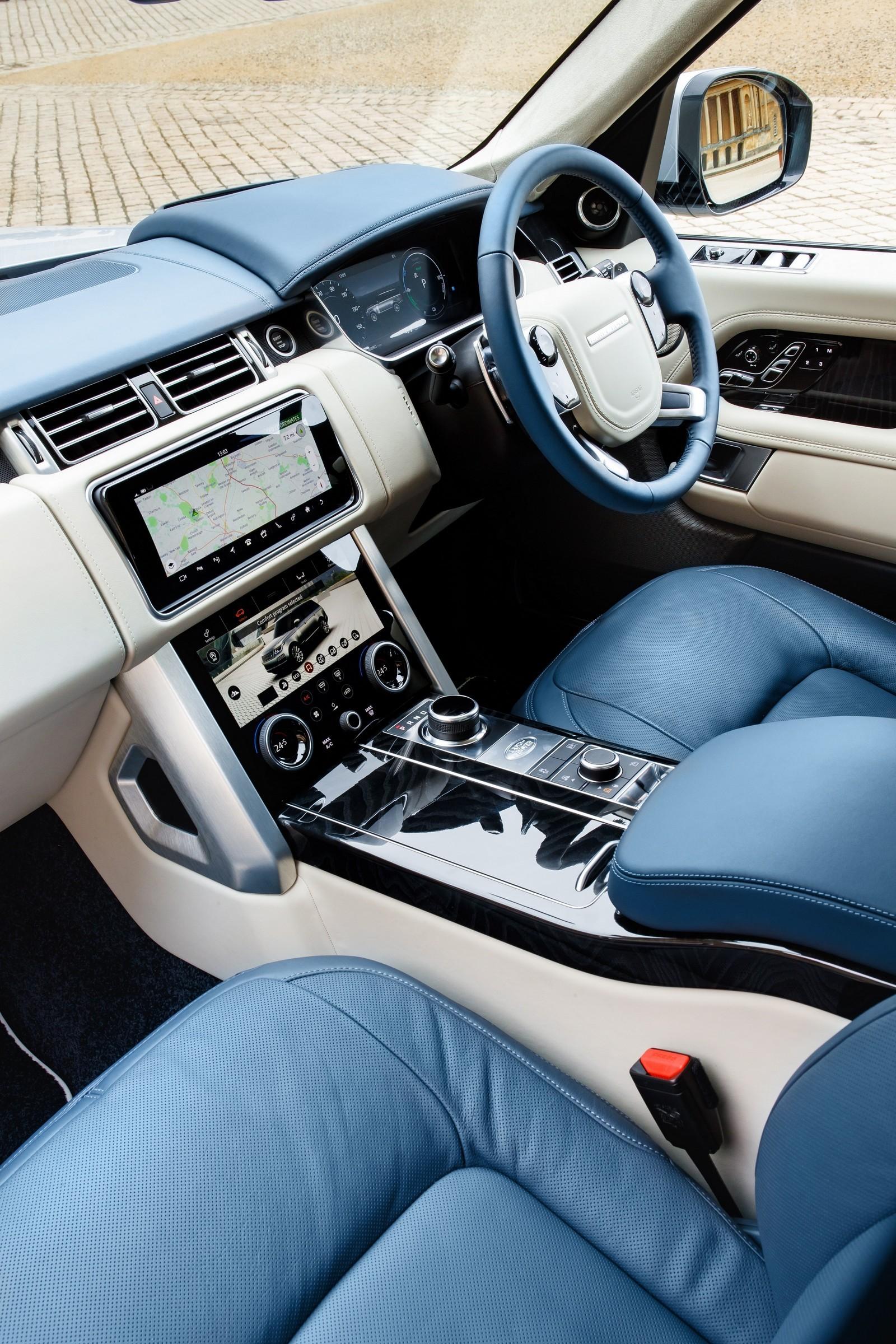 Range Rover PHEV Media Drive, March 2018
