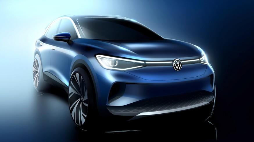 VW хочет играть в интригу: появились эскизы нового кроссовера, внешность которого уже не секрет