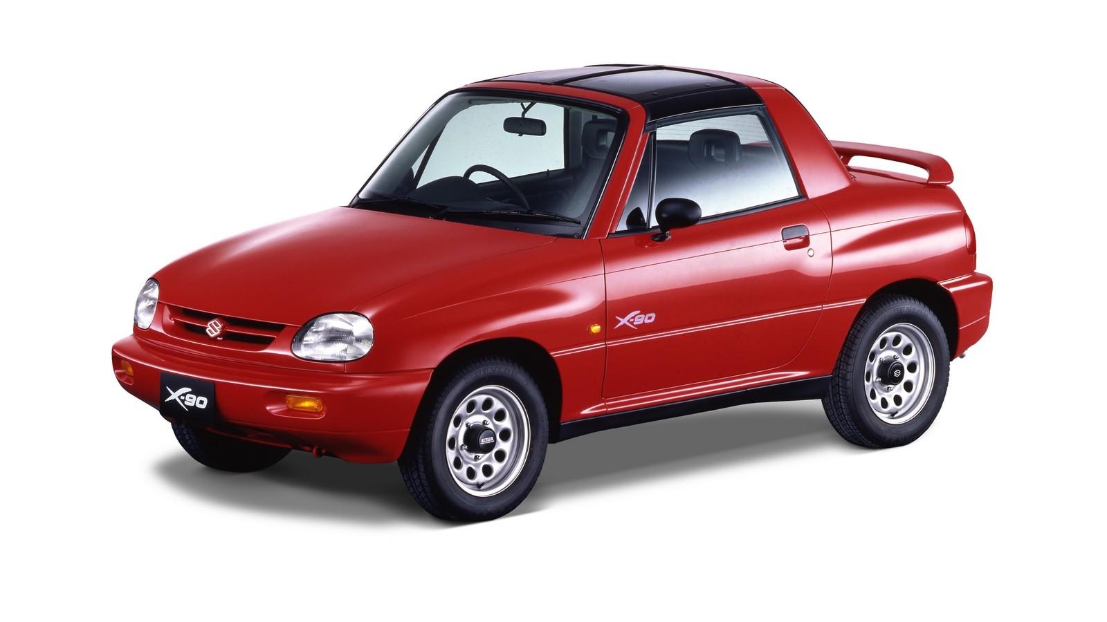 На фото: Suzuki X-90 JP-spec '1995–1997