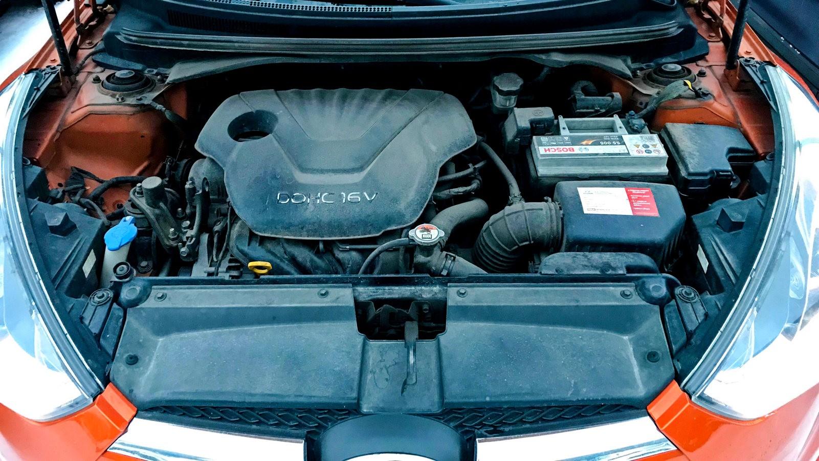 Hyundai Veloster двигатель