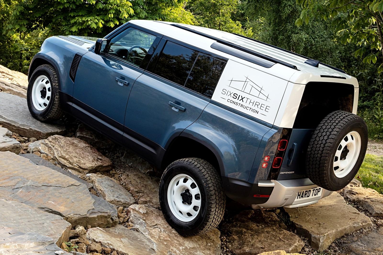 Элитный рабочий: новый Land Rover Defender превратился в фургон