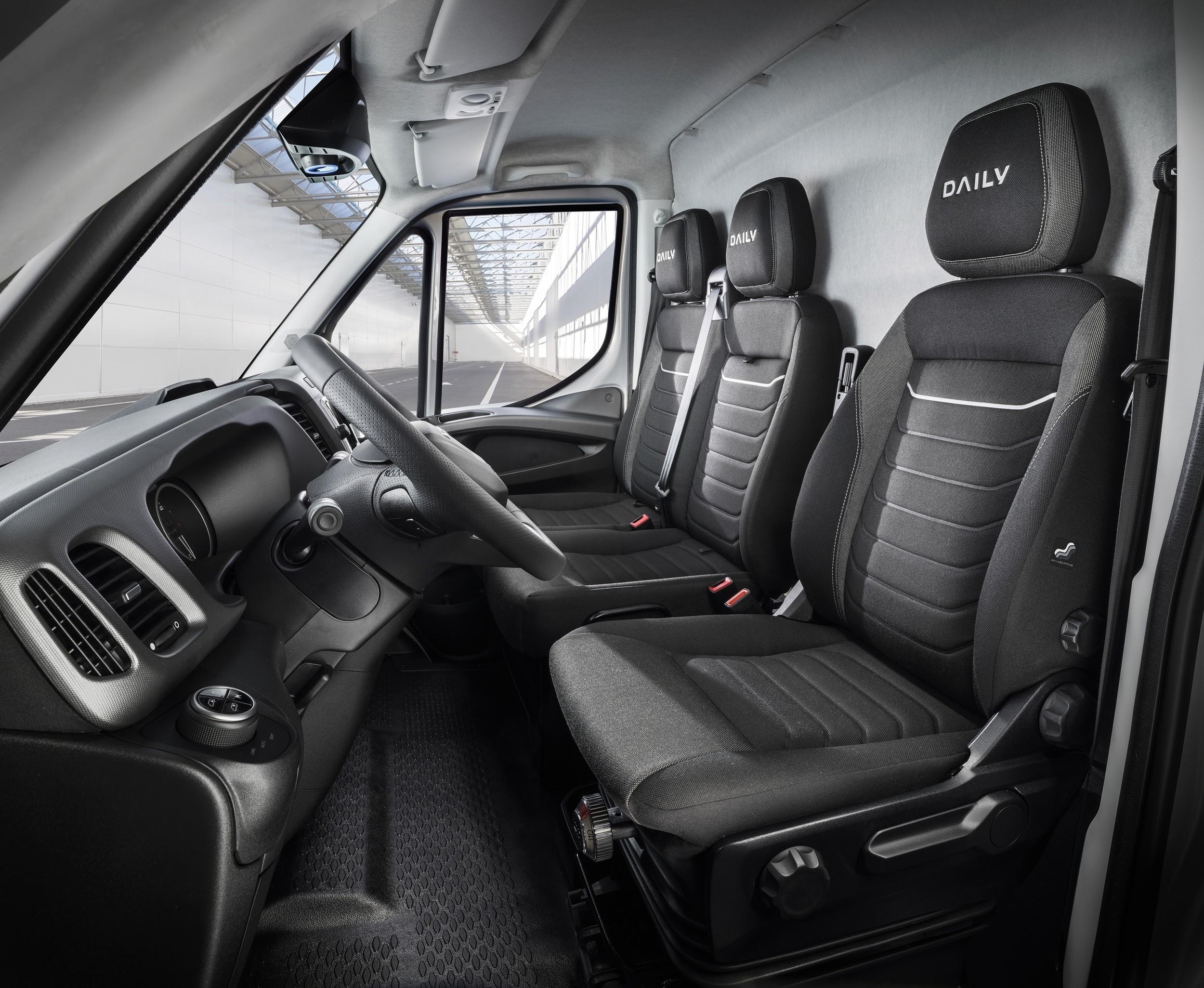 Ещё раз обновлённый Iveco Daily: «струны» на передке, пневмоподвеска и новые сиденья