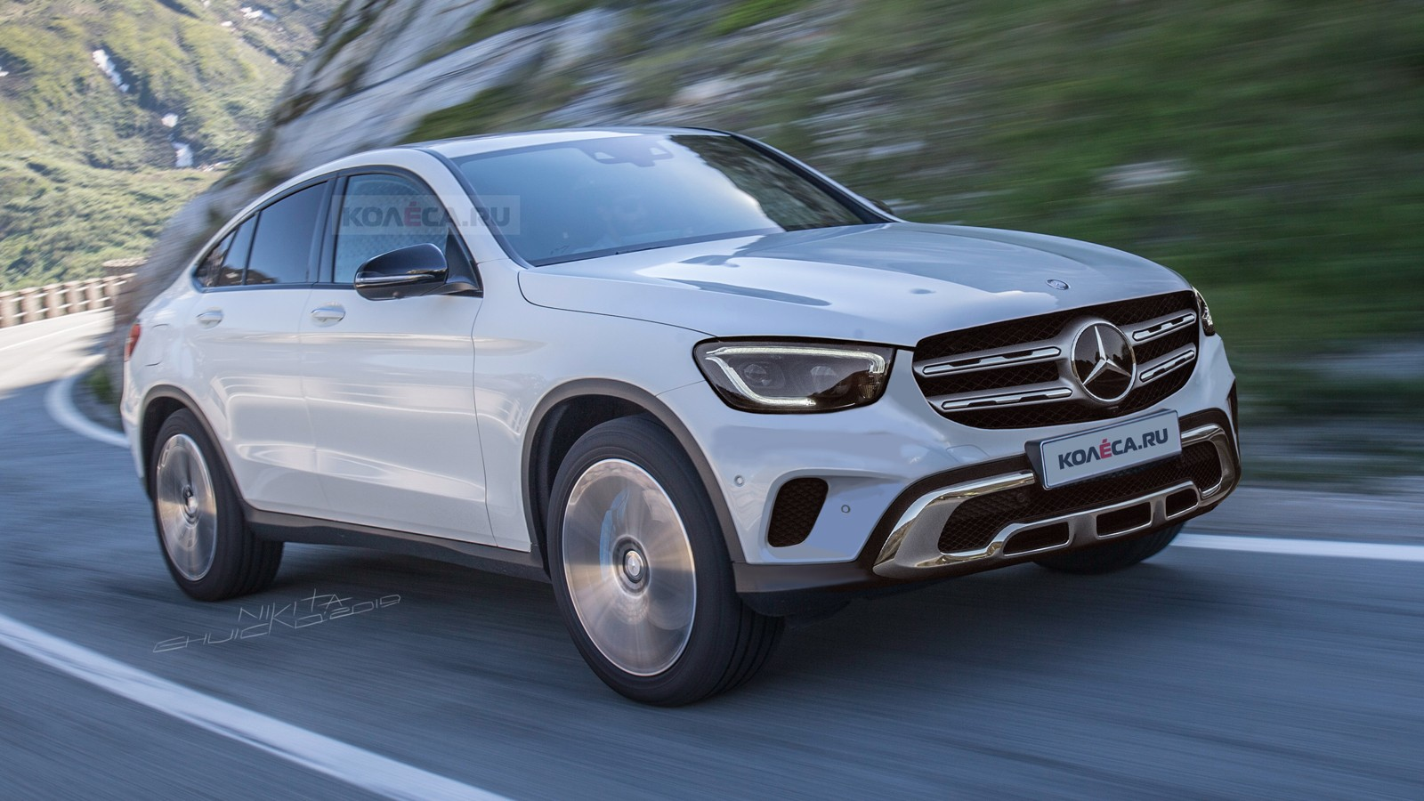 Mercedes-Benz GLC Coupe front1