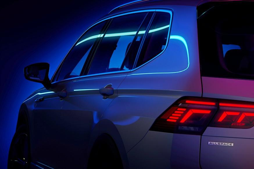 Volkswagen обновил так и не добравшийся до РФ удлинённый Tiguan: первое фото и дата премьеры