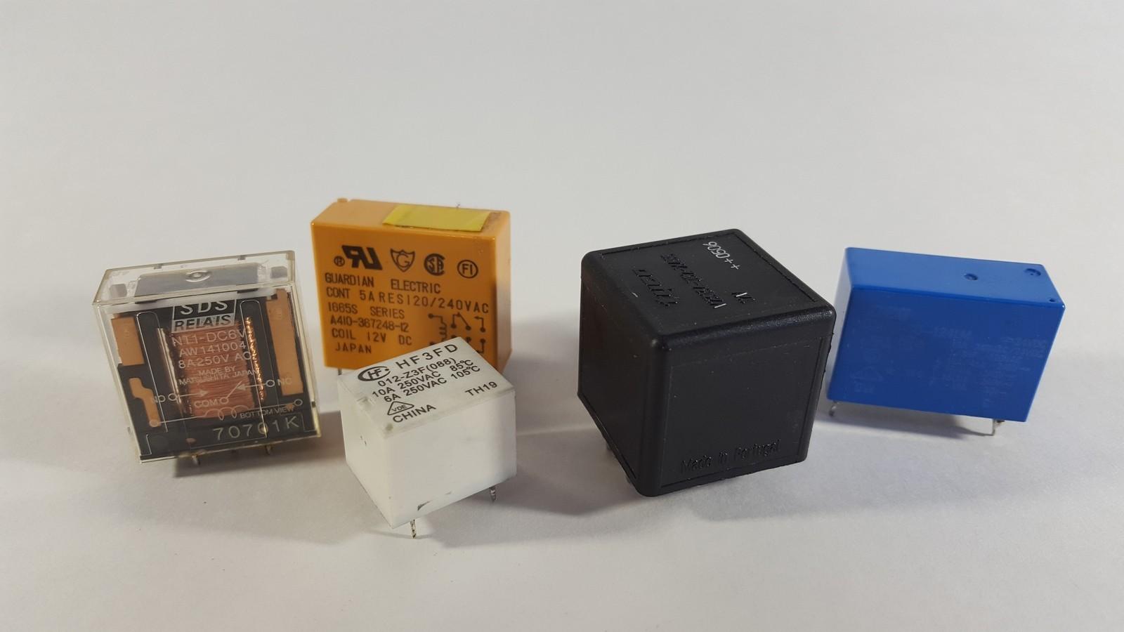 011 2 - Устройство 5 контактного реле