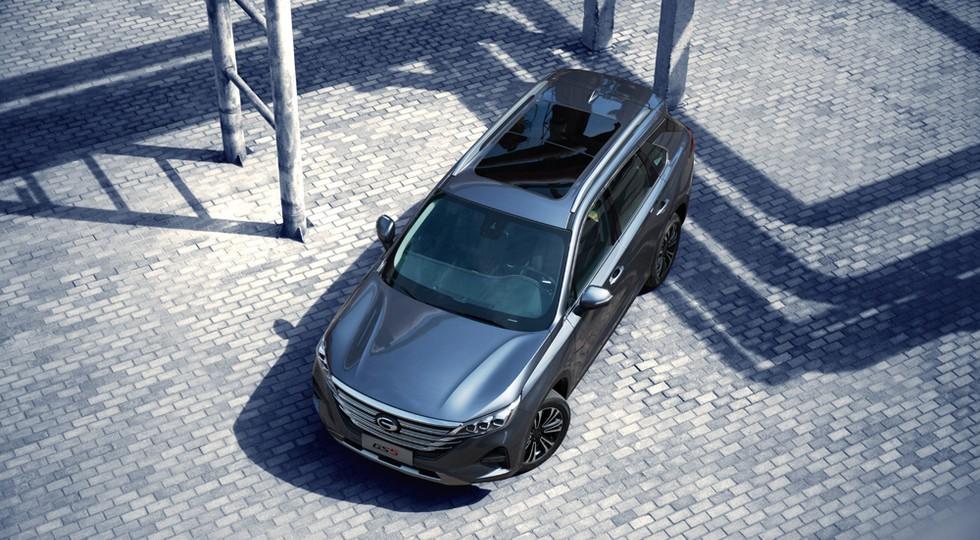 GAC GS5 всё же доберётся до России: кроссовер нового поколения предложат с придушенным мотором
