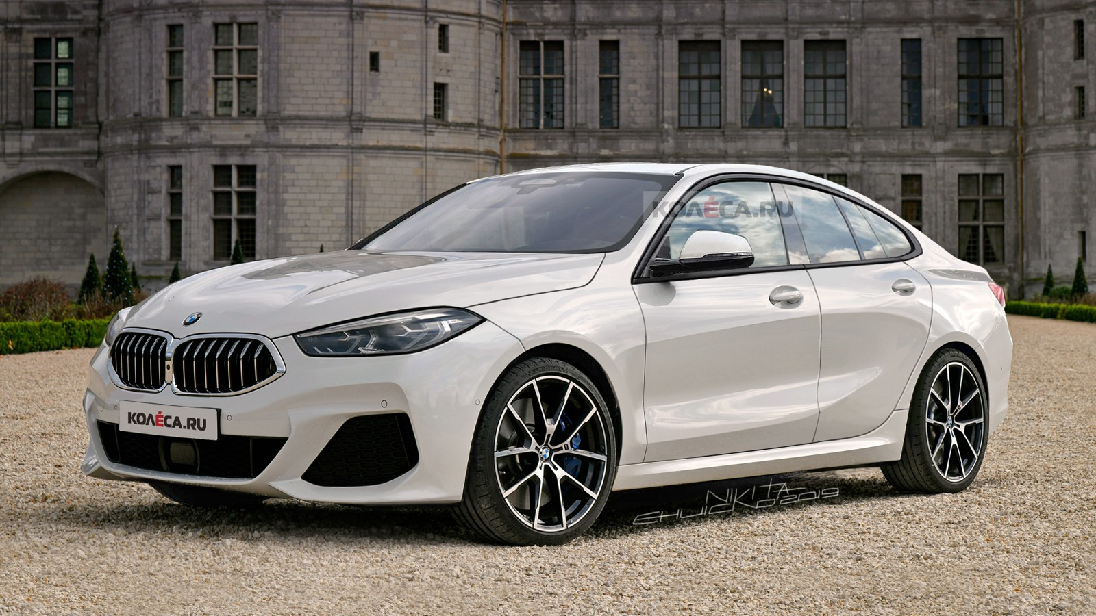 BMW 2 Gran Coupe front2