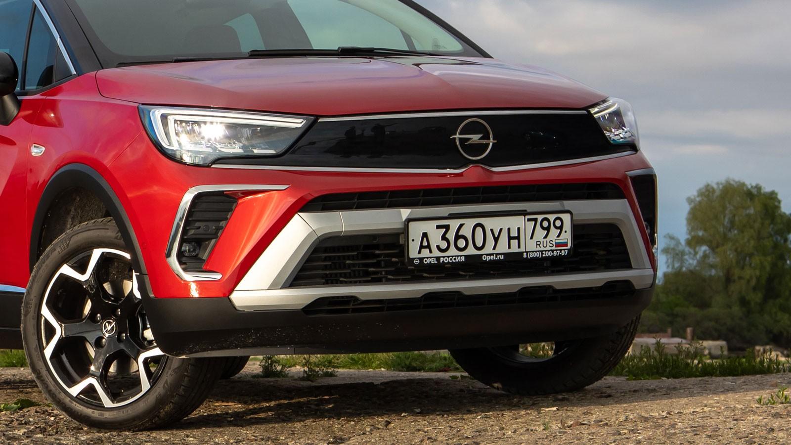 Тест-драйв Opel Crossland: три цилиндра, передний привод и жёсткая подвеска