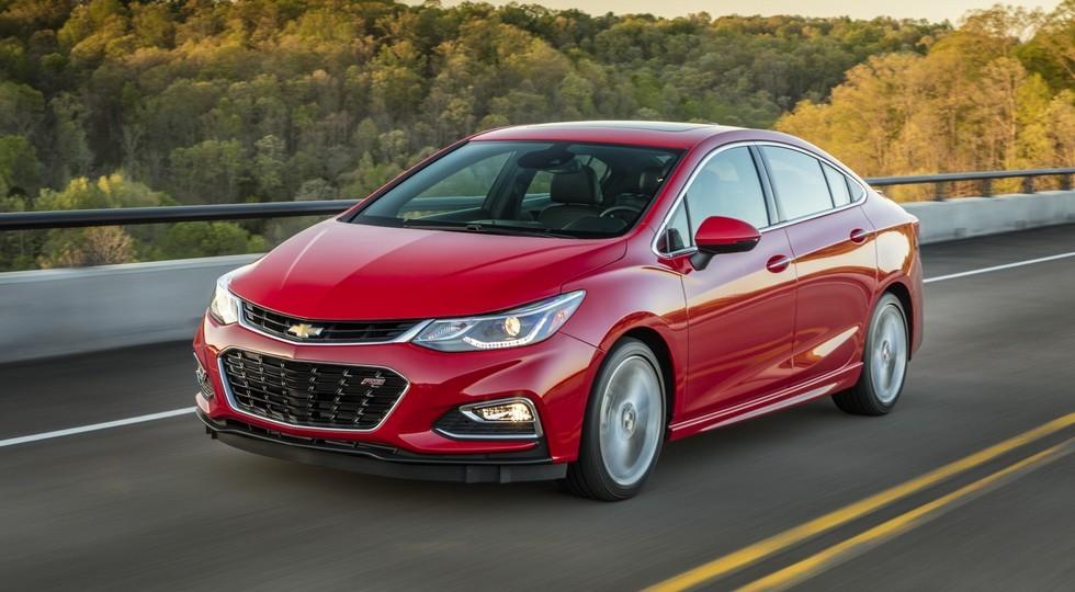 На фото: Chevrolet Cruze