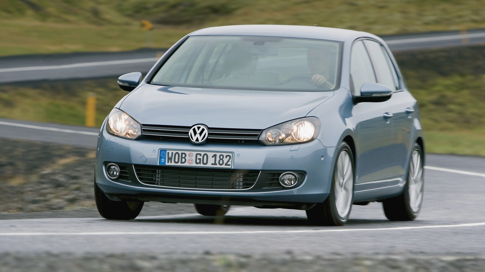 На фото: Volkswagen Golf '2008–12