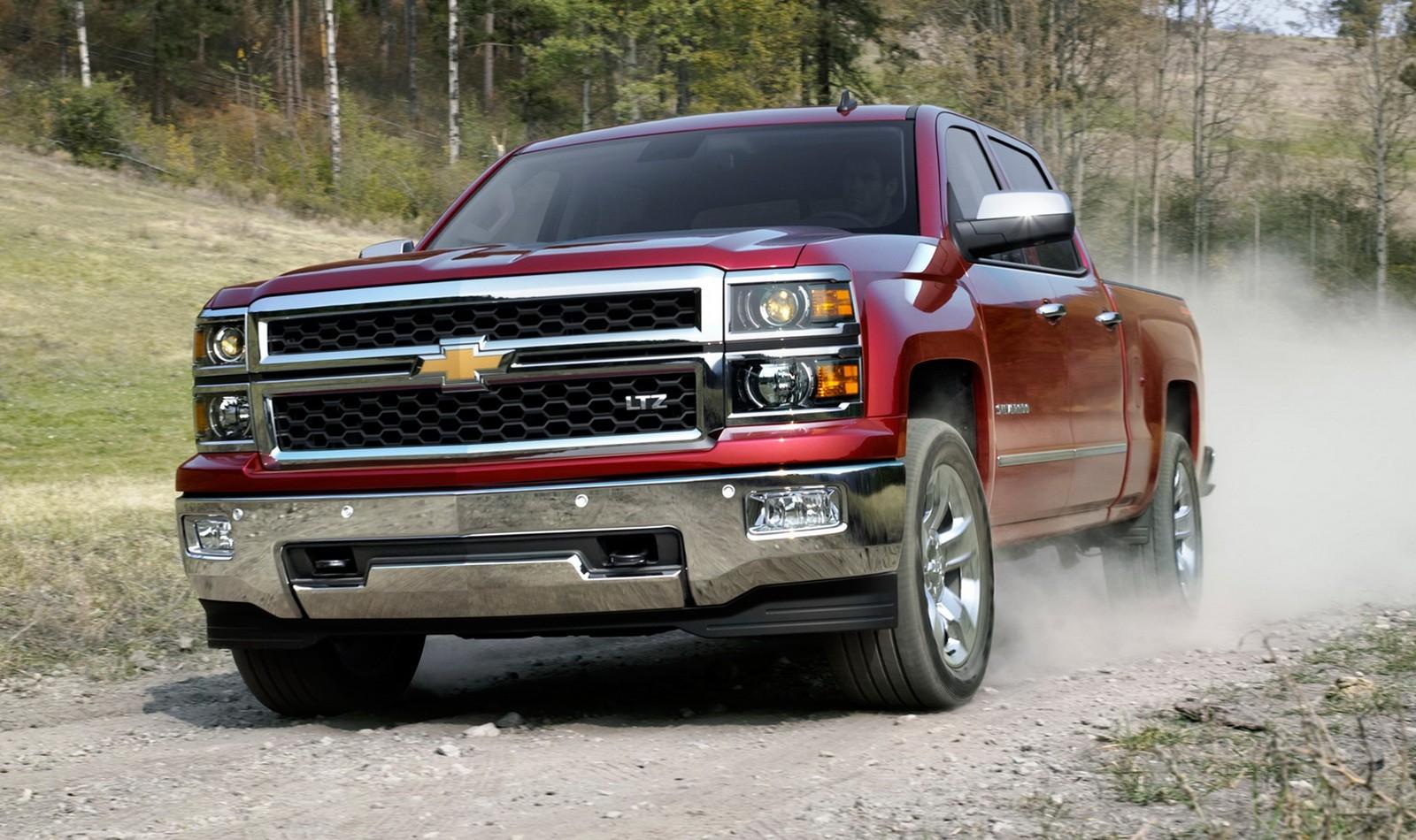На фото: Chevrolet Silverado