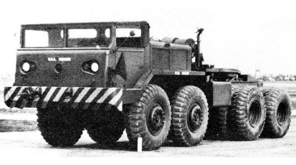 7 Американский опытный седельный тягач Т-58