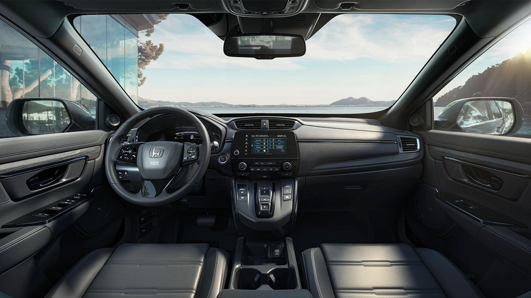 Обновлённый Honda CR-V для Европы: старая внешность и только гибридная версия