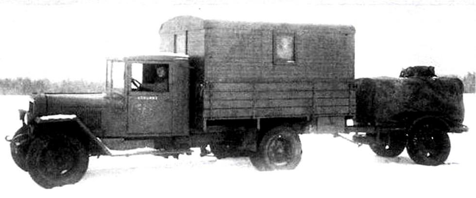 Облегченная станция АЭС-3П в 15 киловатт с прицепом (из фондов петербургского Музея артиллерии)