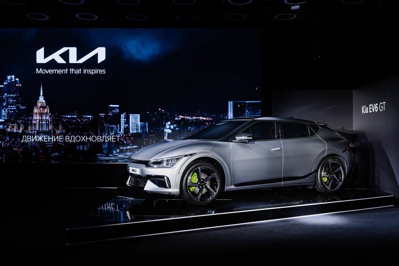 Kia в России: свежий логотип, электрический 589-сильный EV6 GT и новый Sportage