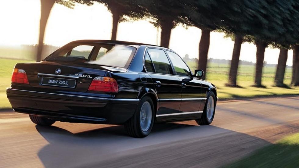 На фото: BMW 750iL (E38) '1998–2001