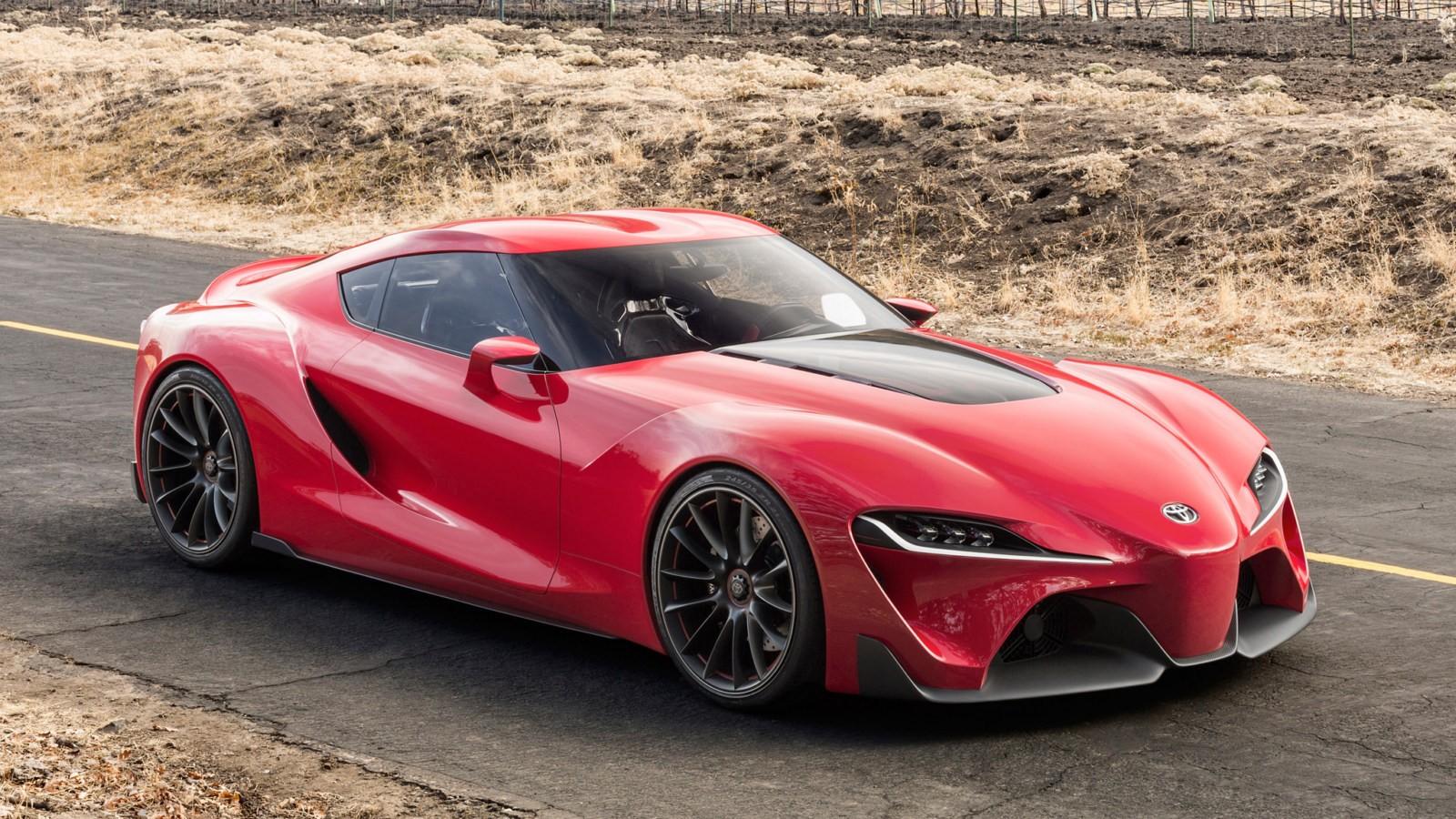 Концепт Toyota FT-1, по мотивам которого разработана новая Supra
