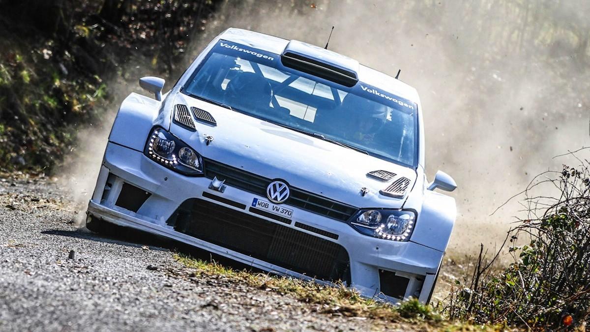Ранее Volkswagen проводил гравийные тесты, пришла очередь асфальта