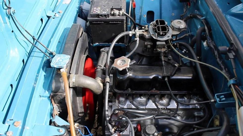 fiat-124 двигатель