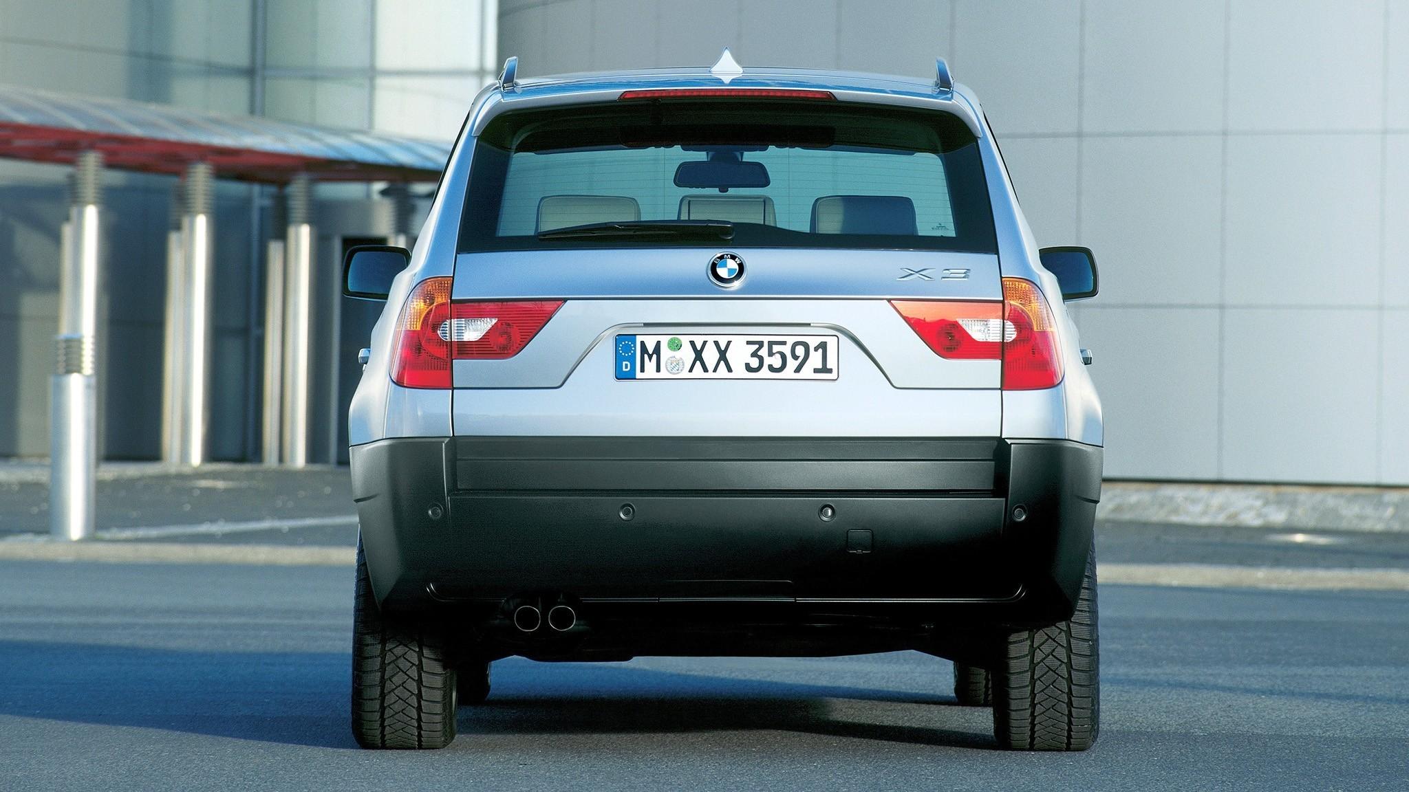 BMW X3 3.0i (E83) '2003–06сс