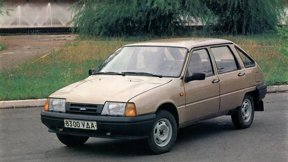 Финальный облик автомобиля после 1987 года получился именно таким