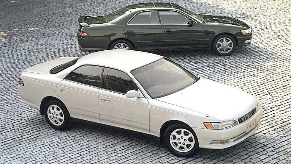На фото: Toyota Mark II (Х90) '1994–96