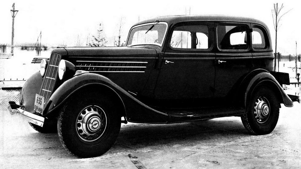 На фото: ГАЗ М1 Предсерийный '1934