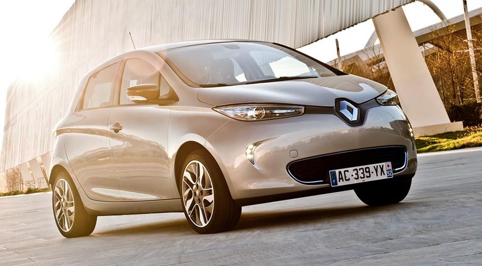 На фото: Renault Zoe