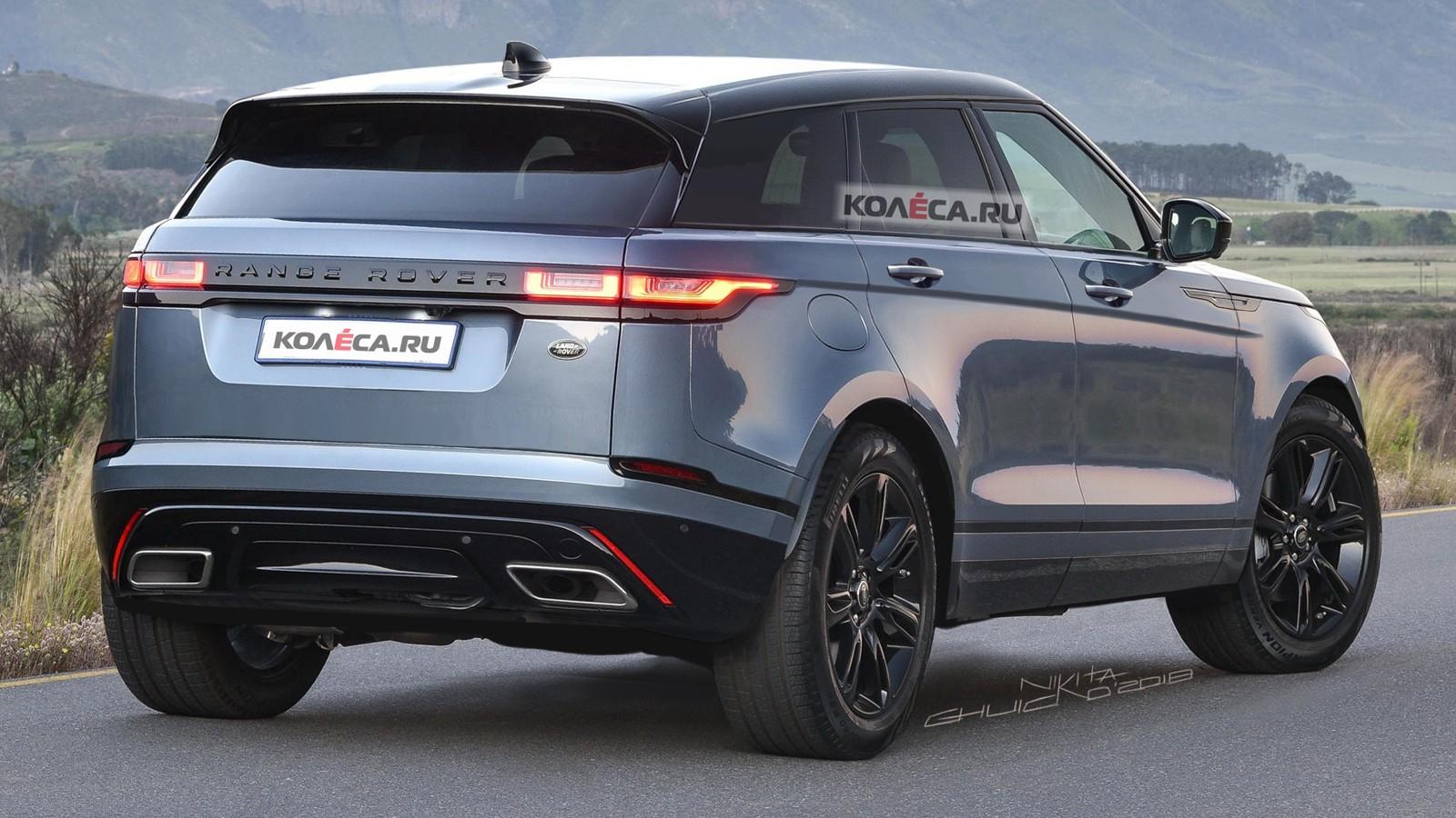 Range Rover Evoque rear2
