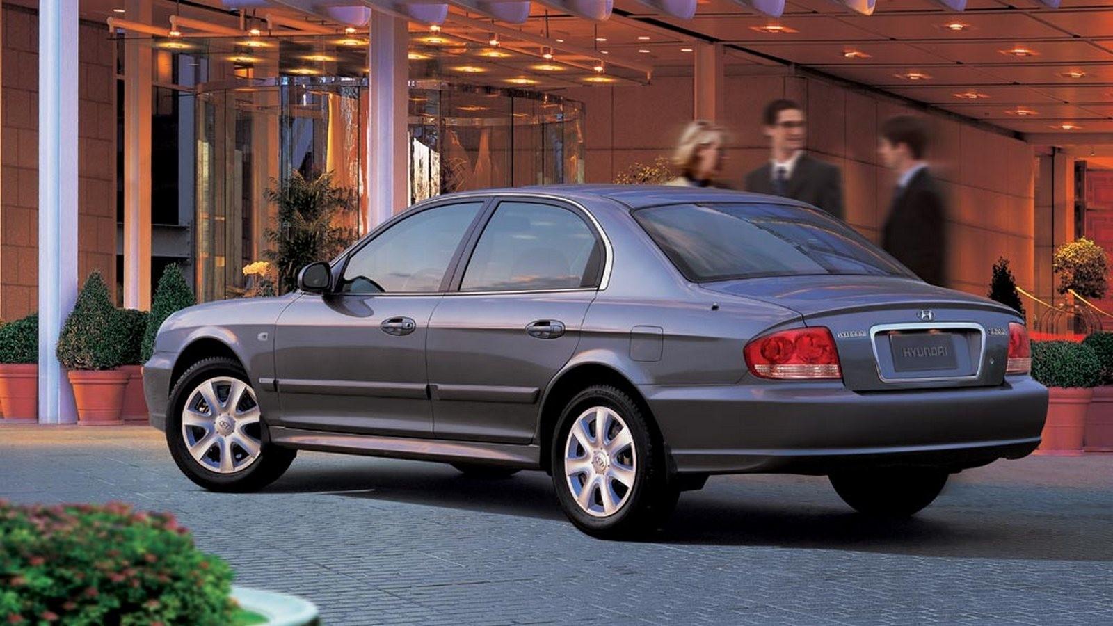 Hyundai Sonata (EF) '01.2001–08.2004б