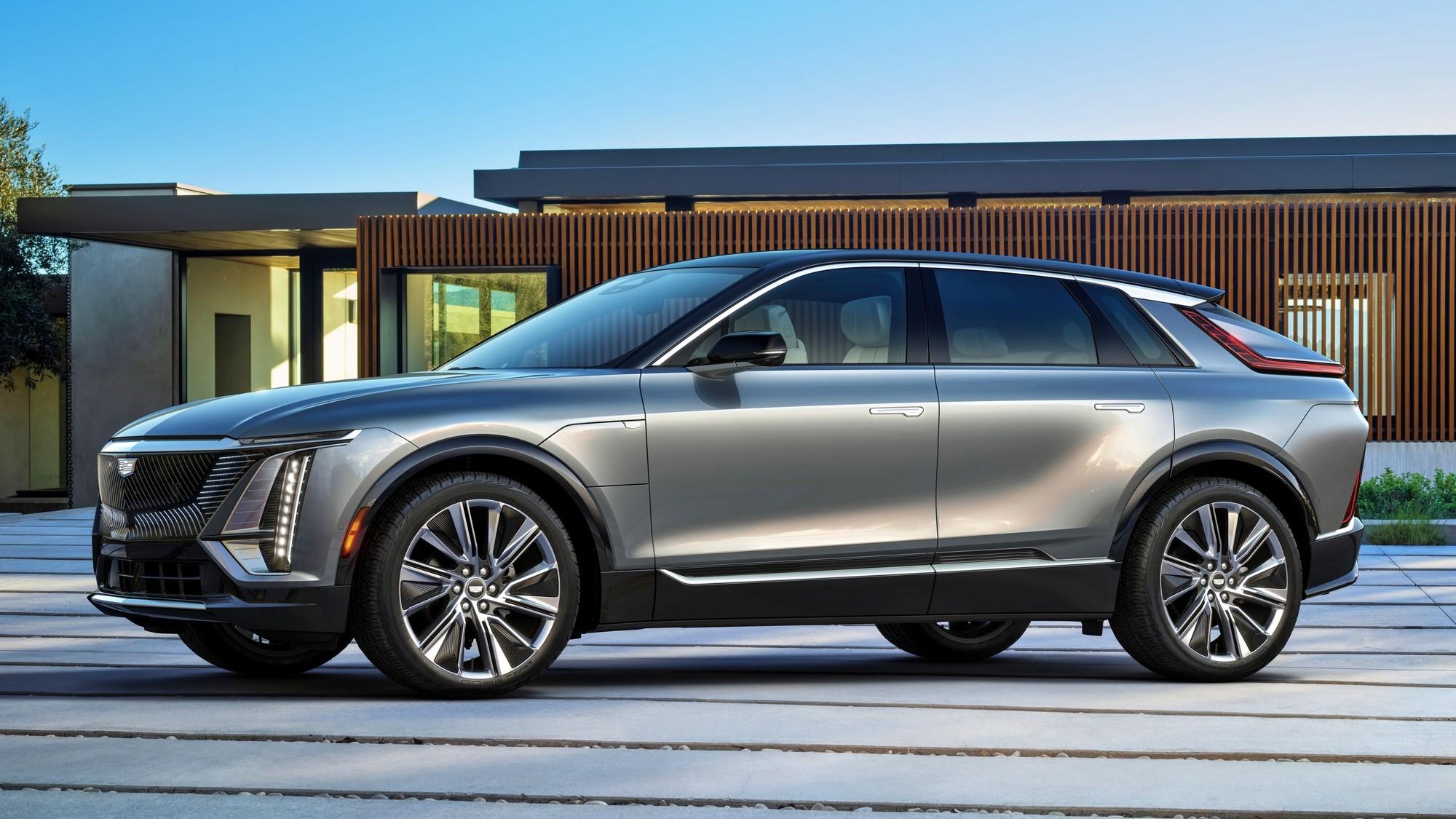 Серийный Cadillac Lyriq: пока только задний привод, зато дешевле, чем Tesla Model X