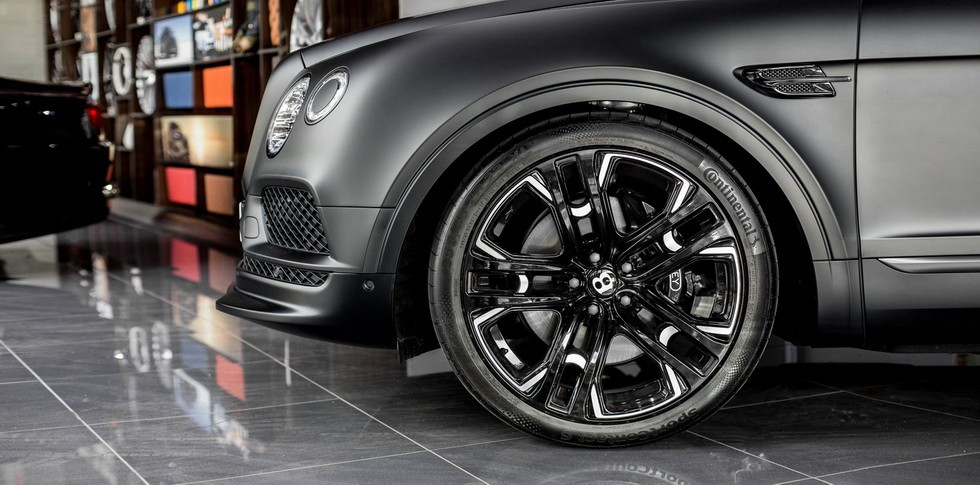 Bentley Bentayga от Wheelsandmore 4