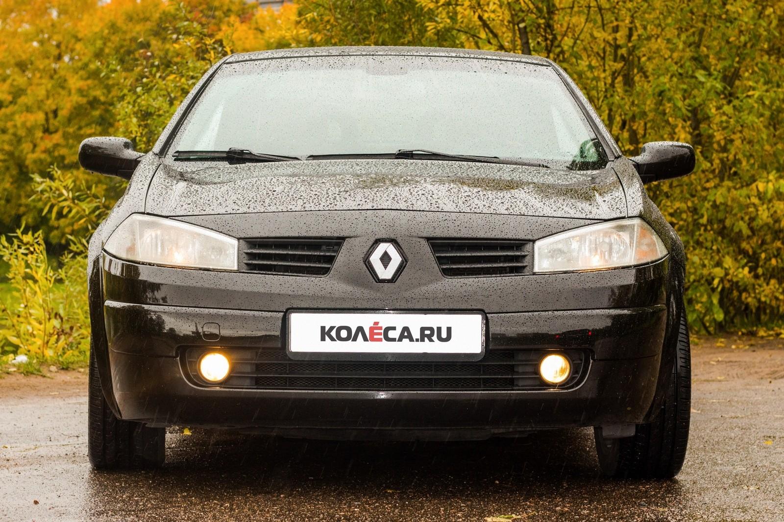 Renault-Megane-кабриолет спереди