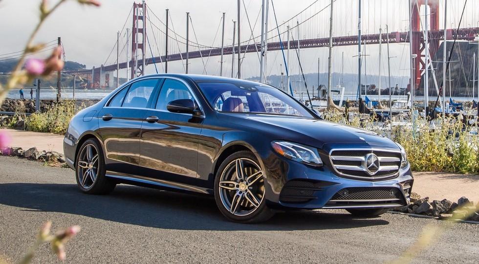 На фото: новый Mercedes-Benz E-Class