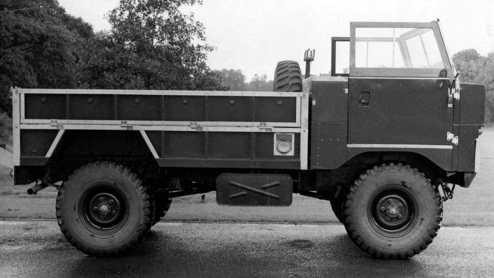 Land Rover 101 Forward Controlх