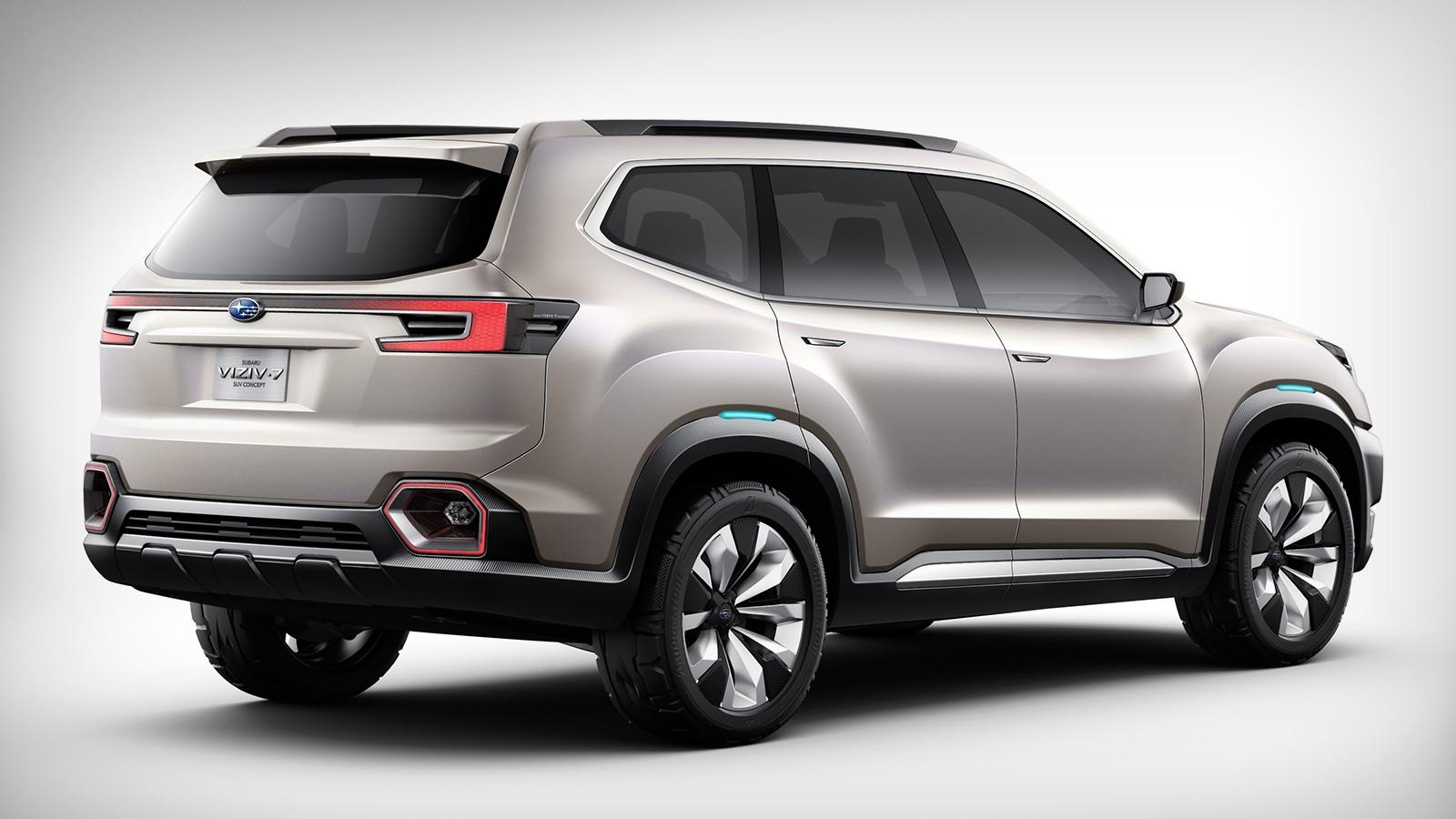 На фото: Subaru Viziv-7 SUV Concept