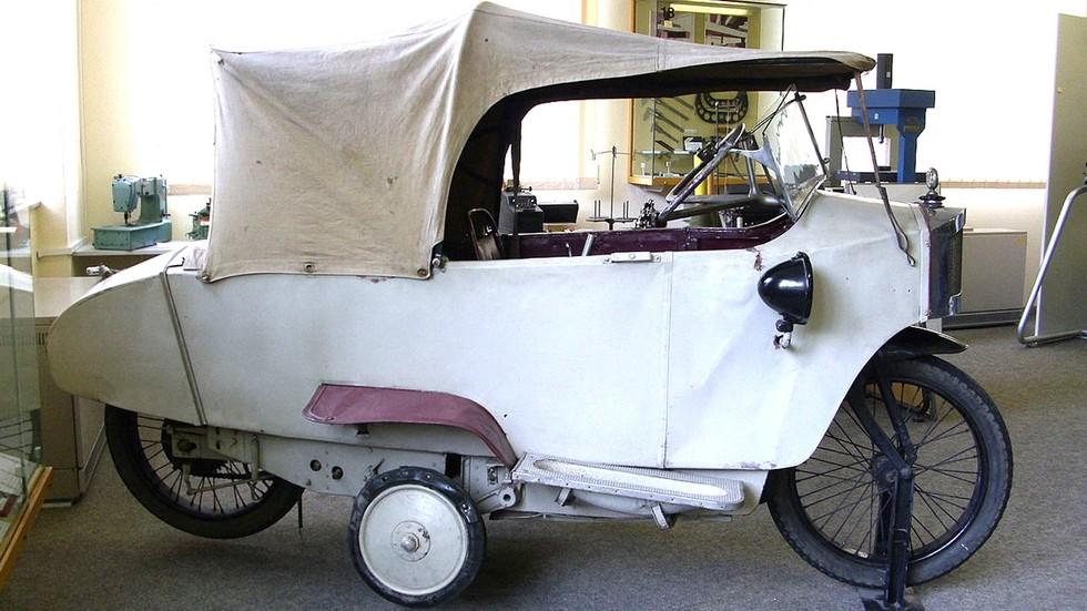 Двухколесная машина Густава Винклера